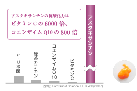アスタキサンチン配合ジェル(AX7) | 桑園オリーブ皮膚科クリニック【札幌市中央区】